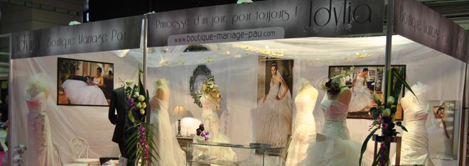 eRekaa au Salon du Mariage de Pau 2012 – Stand Idylia