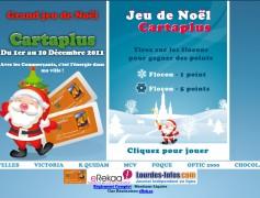 Jeu de Noël Cartaplus Lourdes